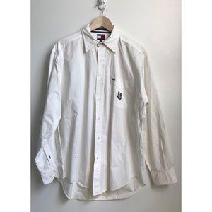 Vintage 90s Tommy Hilfiger Dress Shirt